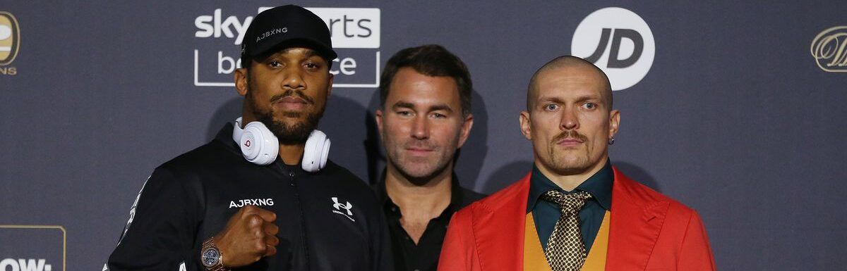 """Anthony Joshua expressed his desire be a """"throwback fighter and take on all comers"""" as the heavyweight world champion"""