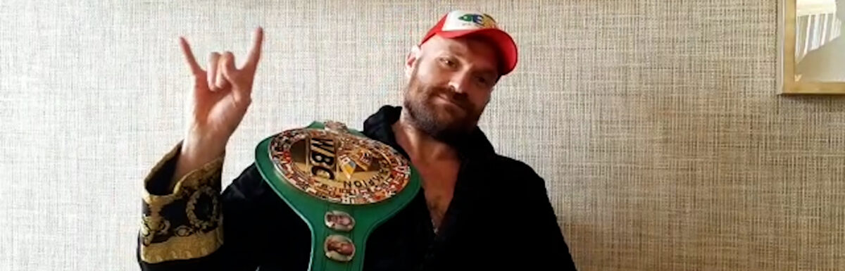 'I'm in the Nevada desert and Im being a grizzly bear on Saturday night' – Tyson Fury Interview